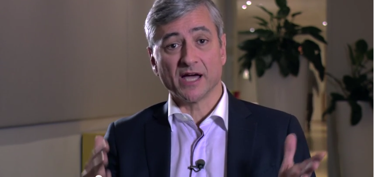 Question answered by Jean-Philippe Courtois around cloud adoption
