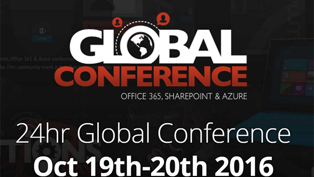 I'm speaking at Collab 365 Global Conference 2016