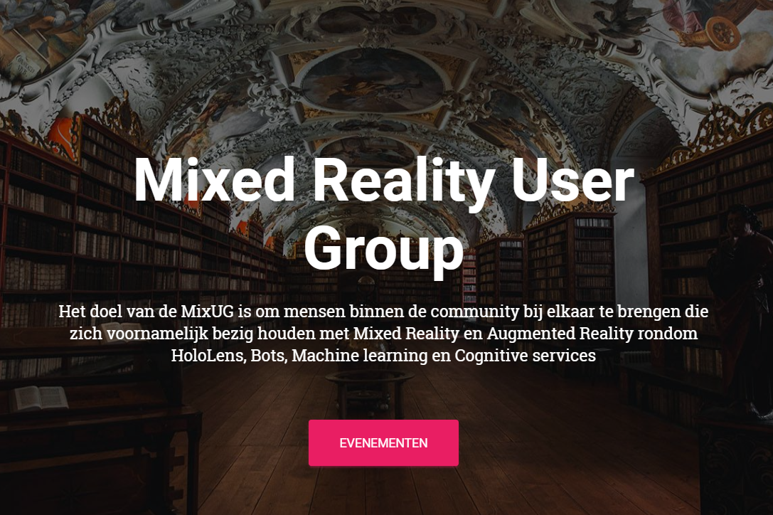 Mixed Reality User Group